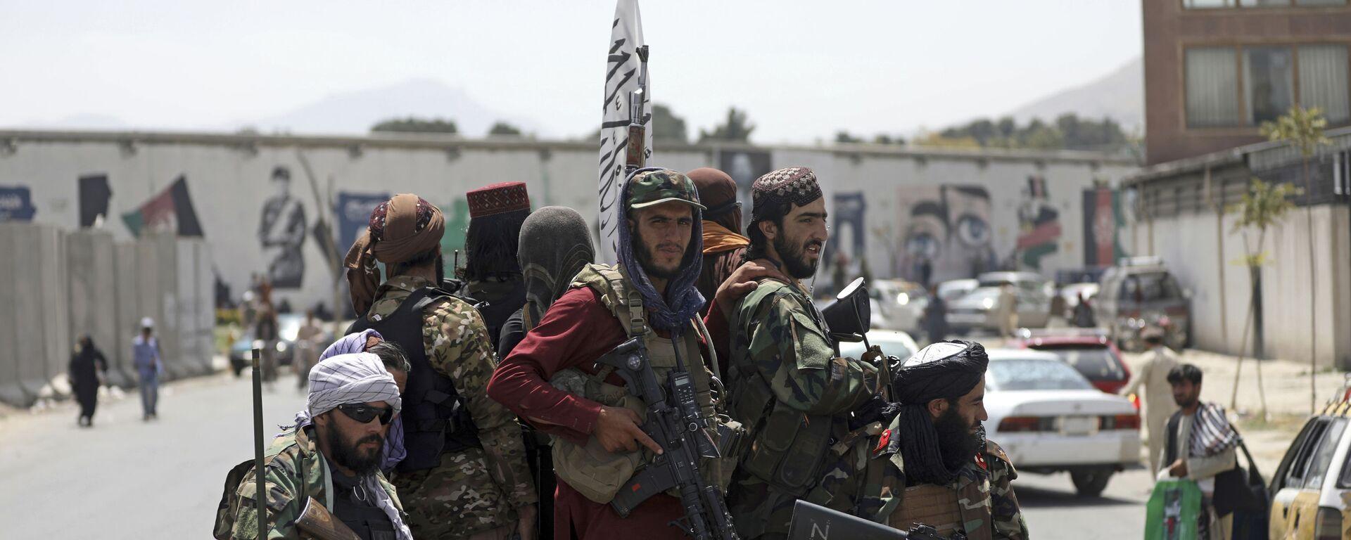 Taliban-Kämpfer in Kabul, Afghanistan - SNA, 1920, 15.09.2021
