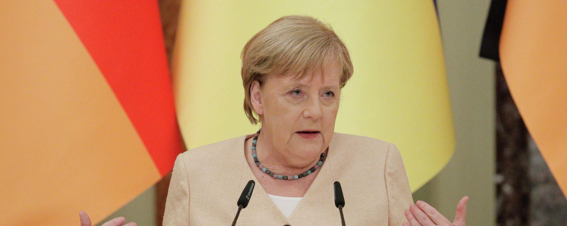 Bundeskanzlerin Angela Merkel in Kiew, Ukraine - SNA, 1920, 13.09.2021