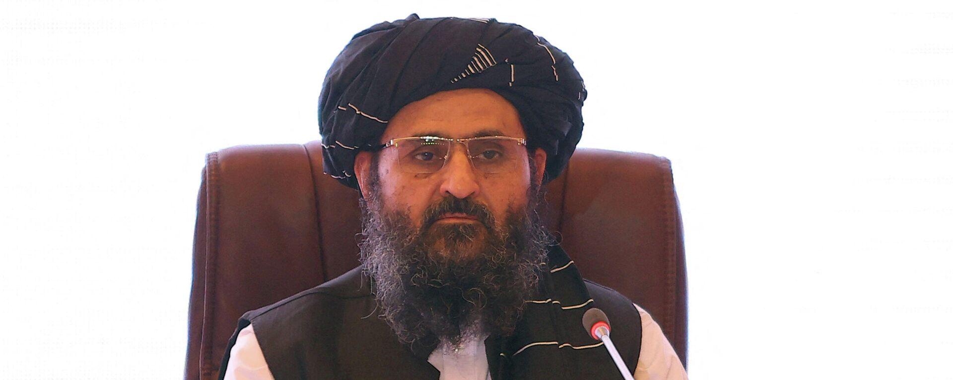 Mullah Abdul Ghani Baradar (Taliban) - SNA, 1920, 24.08.2021