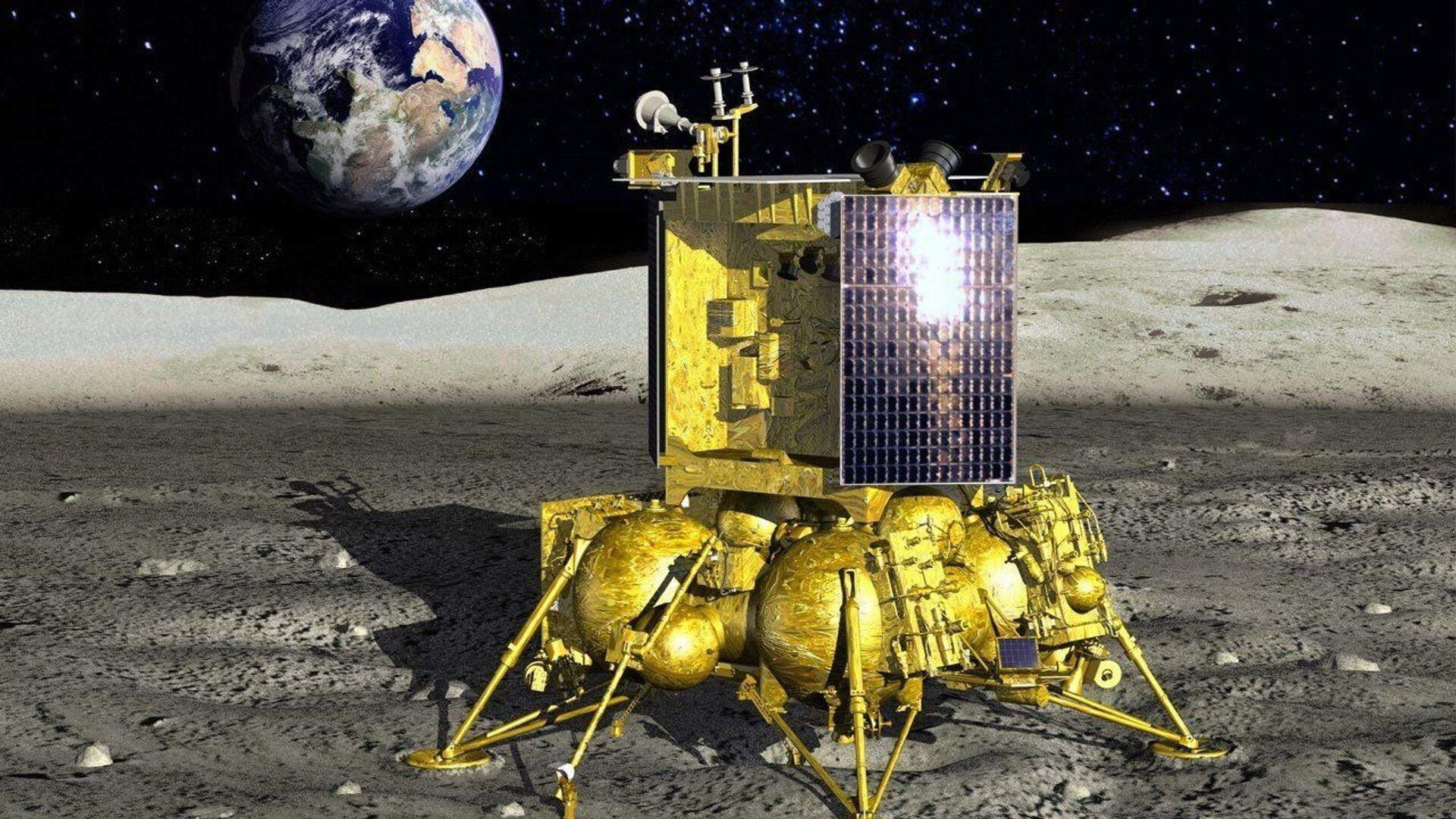 """Die russische Mondsonde """"Luna-25"""" (Symbolbild) - SNA, 1920, 25.08.2021"""