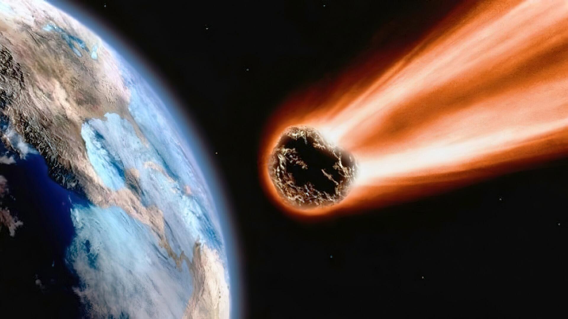 Meteorit (Symboldbild) - SNA, 1920, 21.09.2021