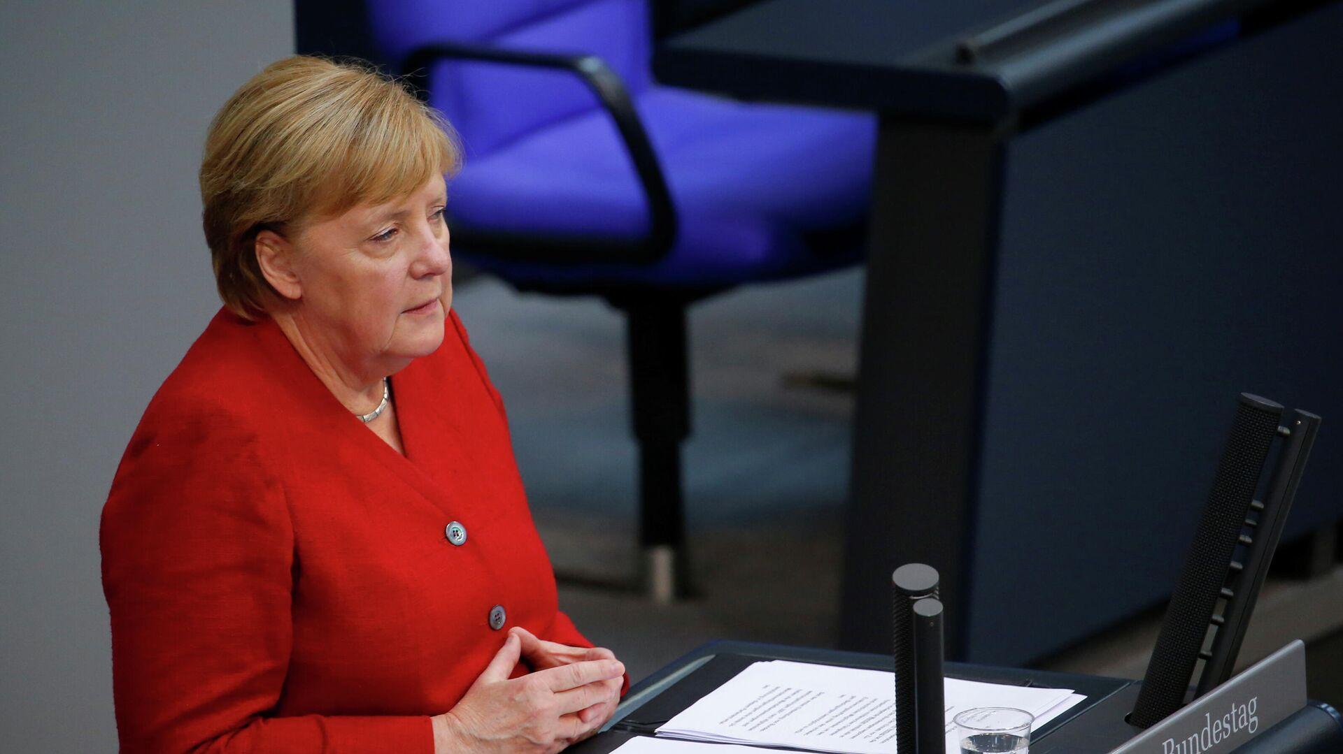 Bundeskanzlerin Merkel spricht vor Bundestag  - SNA, 1920, 05.09.2021
