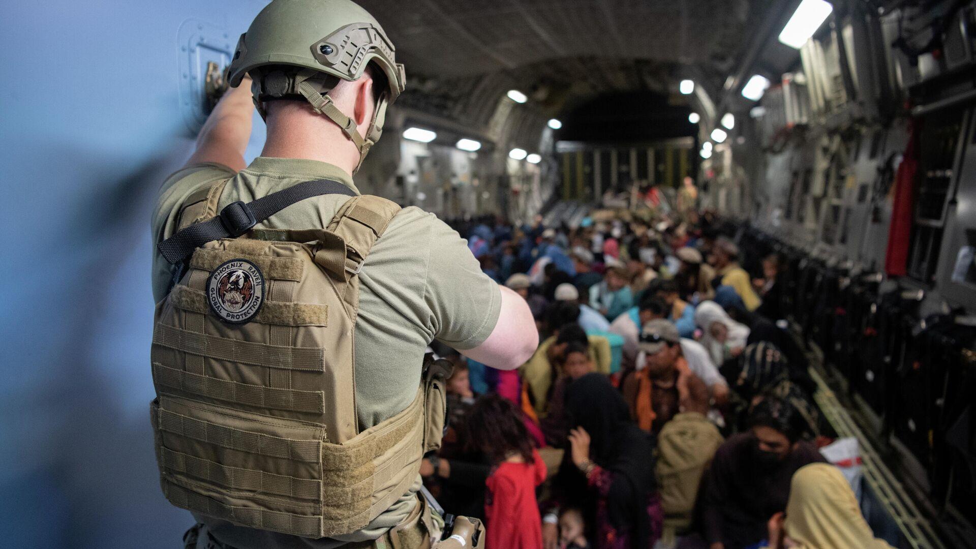Evakuierung aus Afghanistan  - SNA, 1920, 21.09.2021