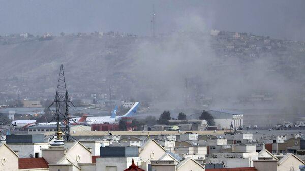 Дым от взрыва возле аэропорта в Кабуле, Афганистан - SNA