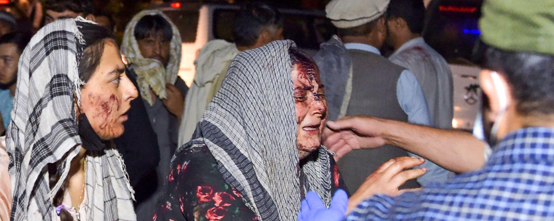Opfer der Bombenanschläge in Kabul, Afghanistan - SNA, 1920, 27.08.2021