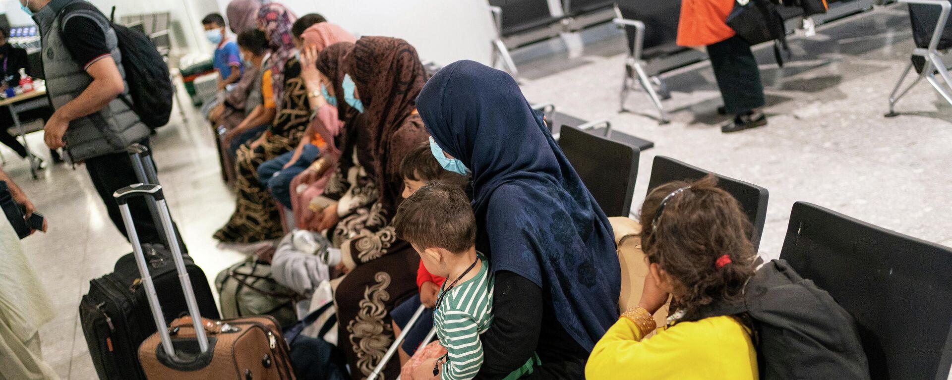 Afghanische Flüchtlinge - SNA, 1920, 27.08.2021