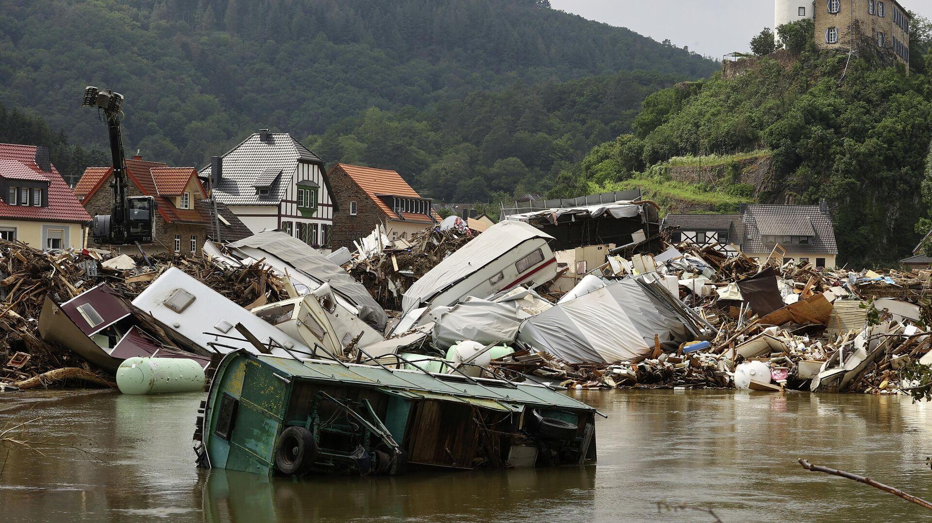 Hochwasser-Katastrophe in Deutschland im Juli 2021  - SNA, 1920, 10.09.2021