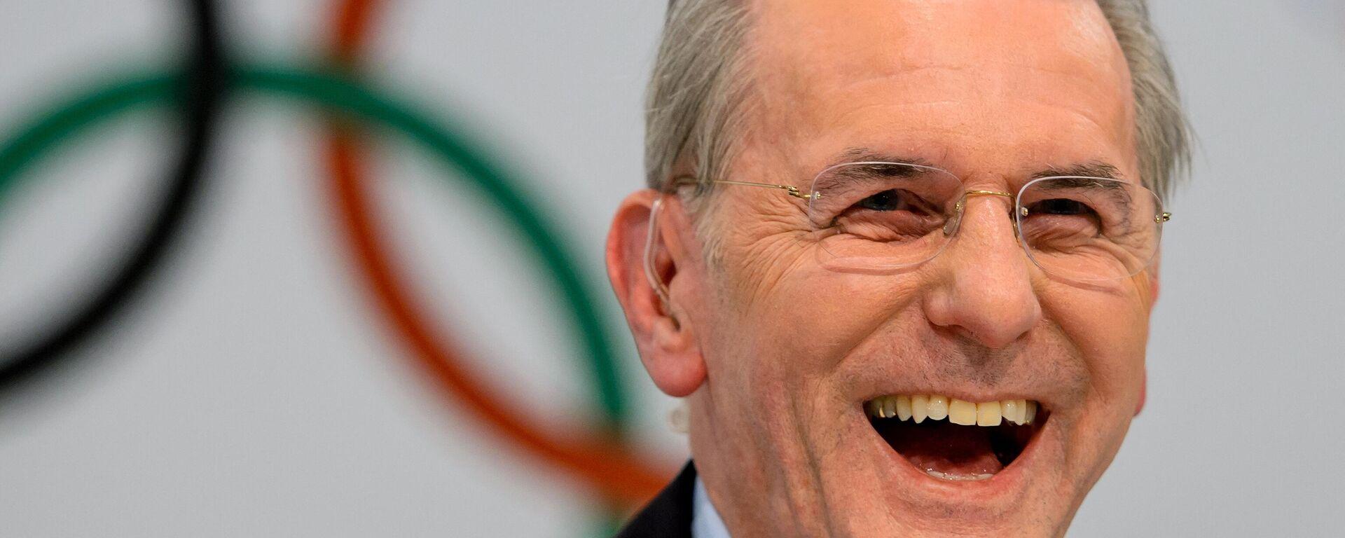 Der frühere IOC-Präsident Jacques Rogge - SNA, 1920, 29.08.2021