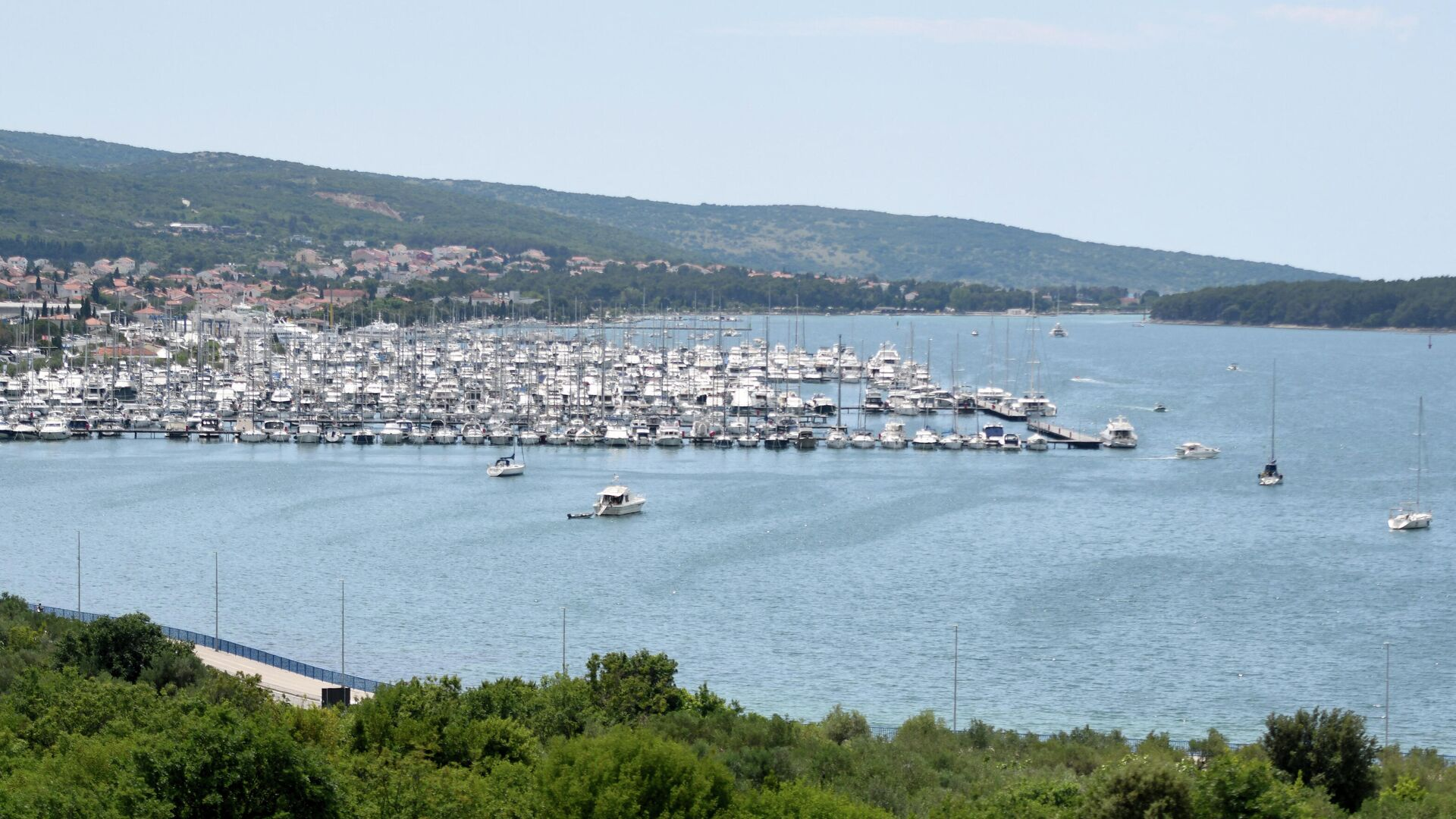 Kroatische Insel Krk - SNA, 1920, 31.08.2021