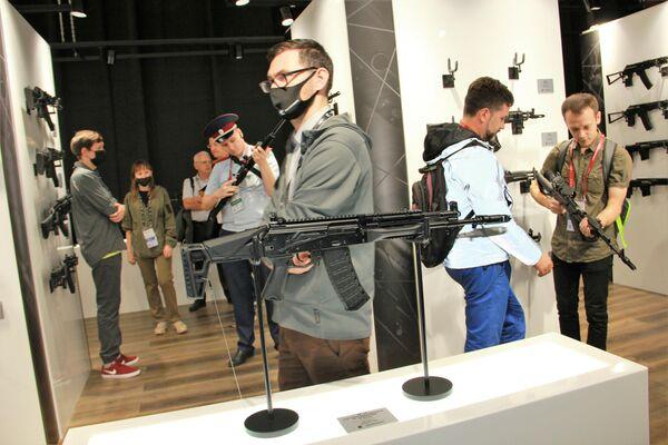 Der bewährte Sturmgewehr AK-12 (Version für Sondereinheiten) - SNA