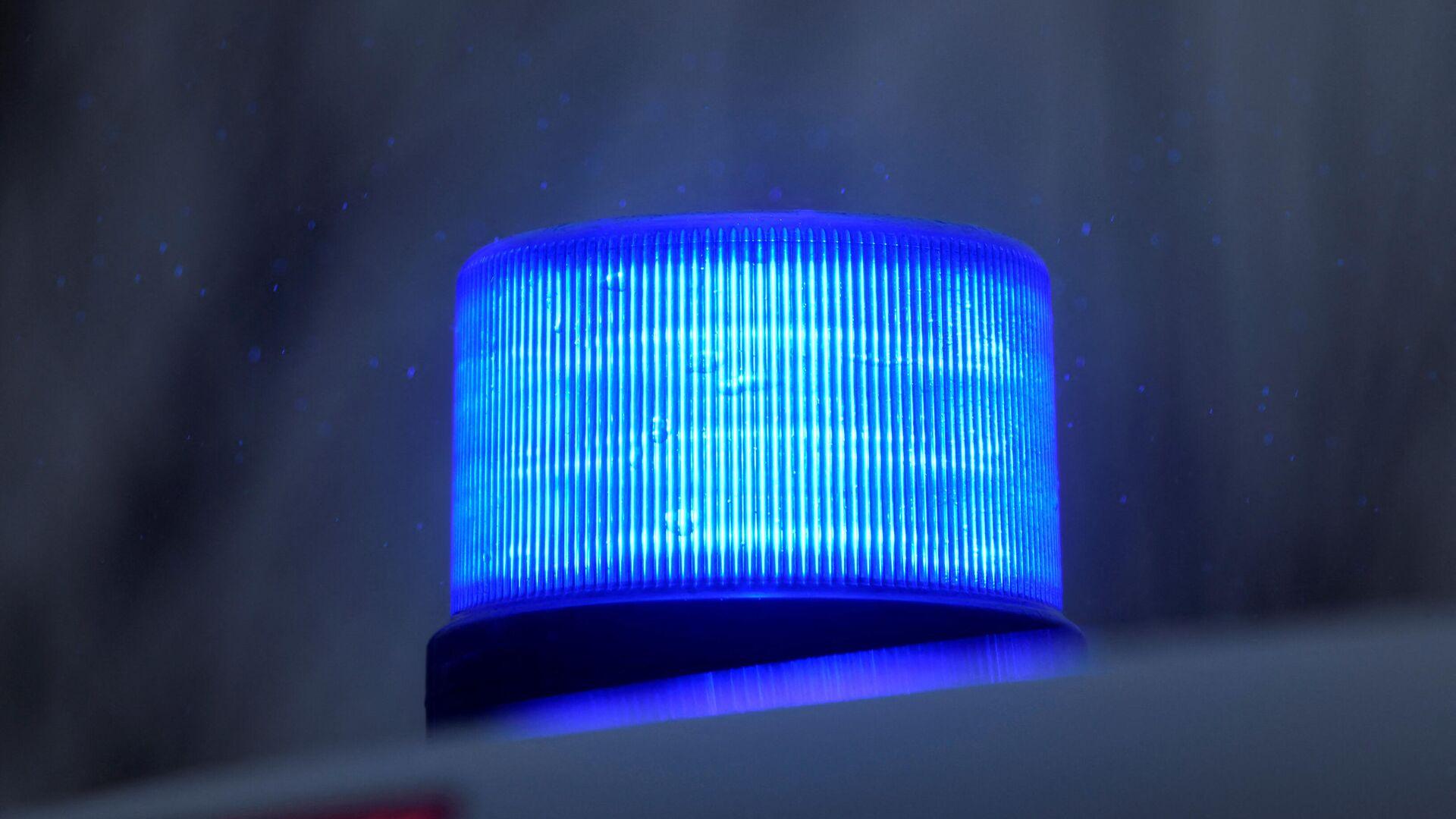 Das Blaulicht eines Polizeiwagens - SNA, 1920, 01.09.2021