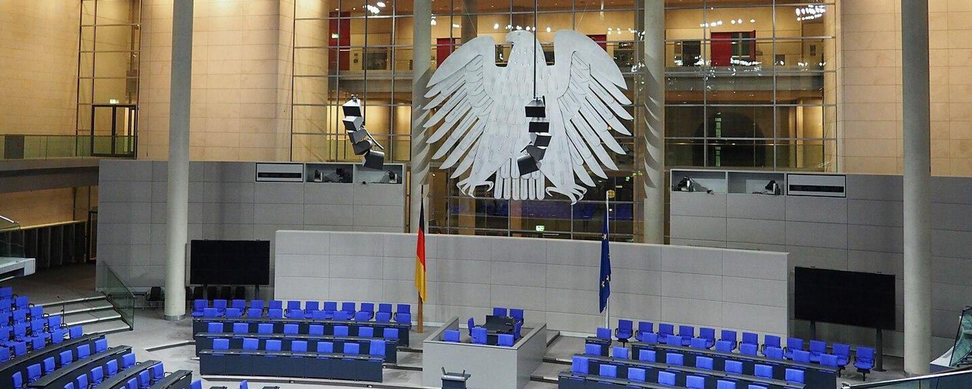 Bundestag (Symbolbild) - SNA, 1920, 27.09.2021