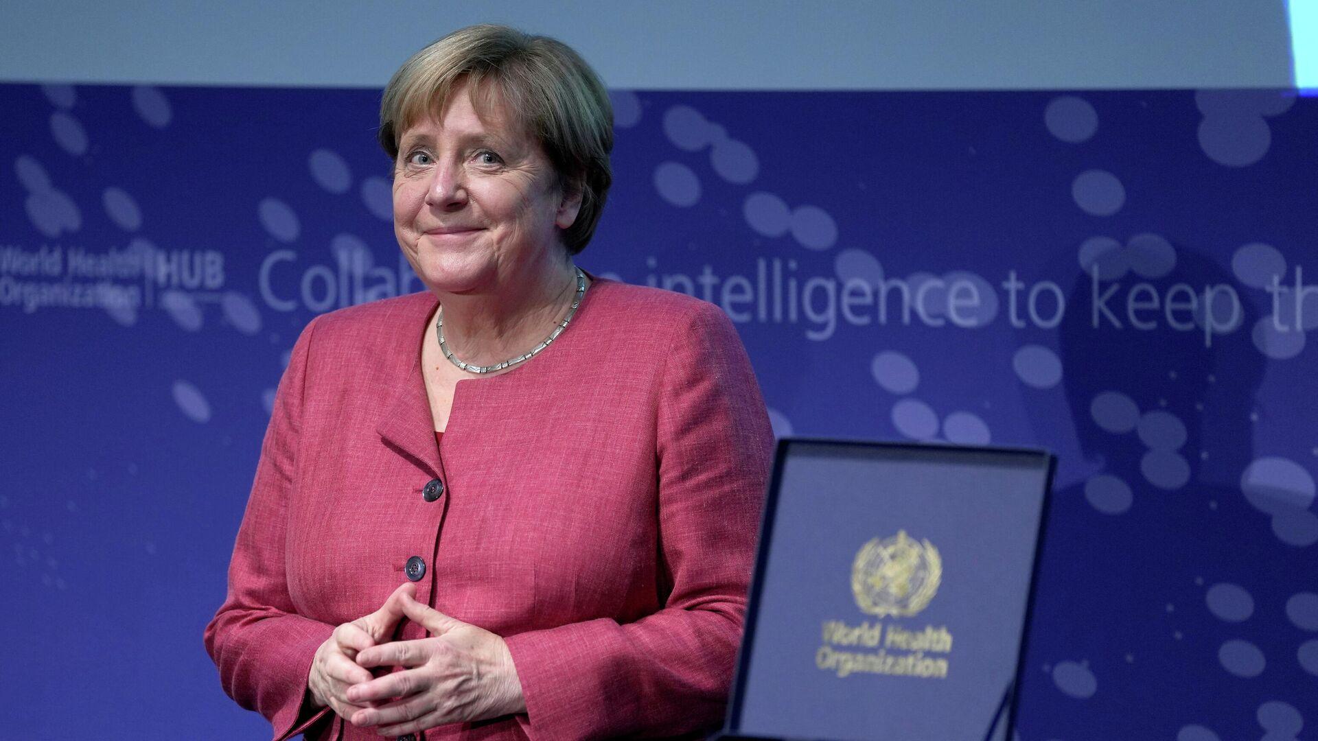 Merkel eröffnet WHO-Hub in Berlin am 1. September 2021 - SNA, 1920, 01.09.2021