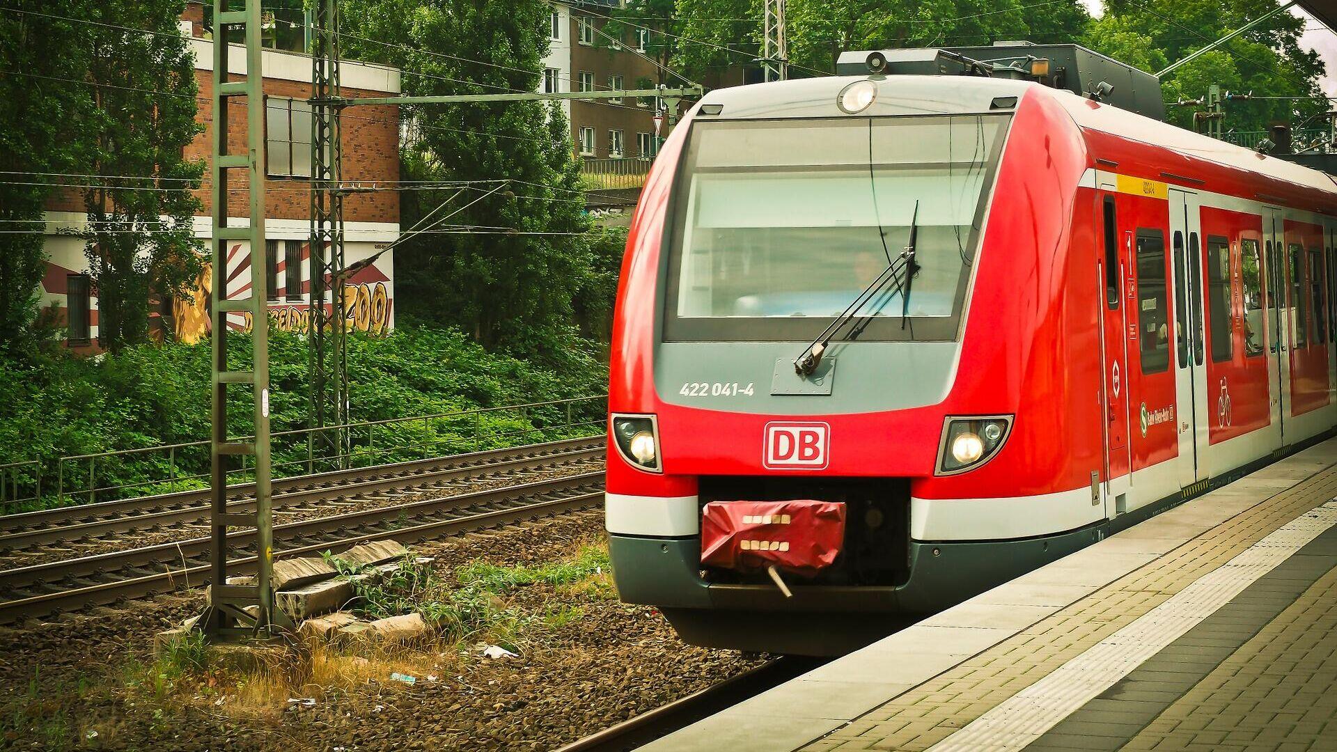 Deutsche Bahn (Symbolbild) - SNA, 1920, 03.09.2021