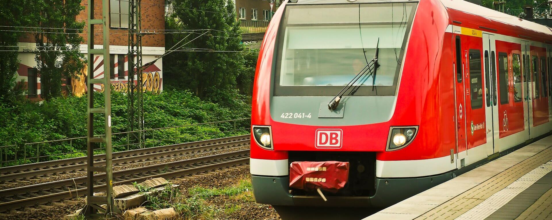 Deutsche Bahn (Symbolbild) - SNA, 1920, 02.09.2021