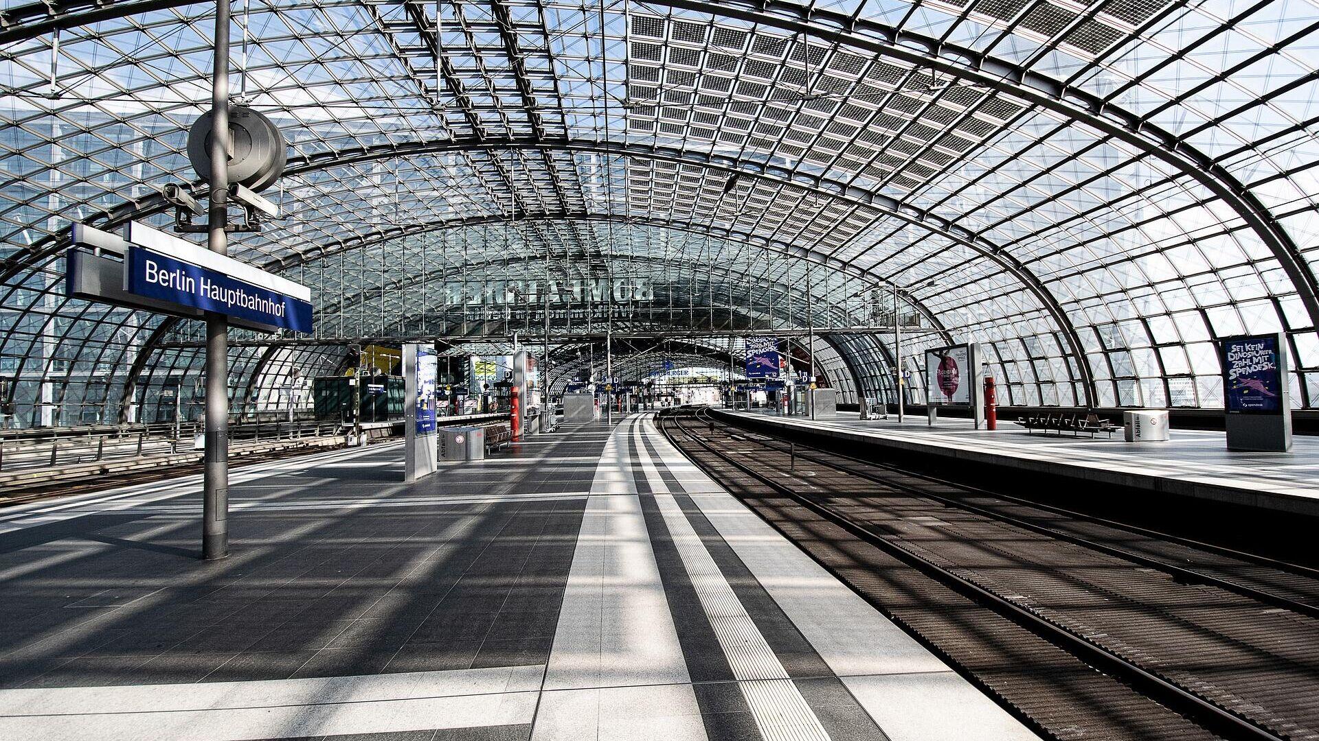 Berliner Hauptbahnhof (Symbolbild) - SNA, 1920, 02.09.2021