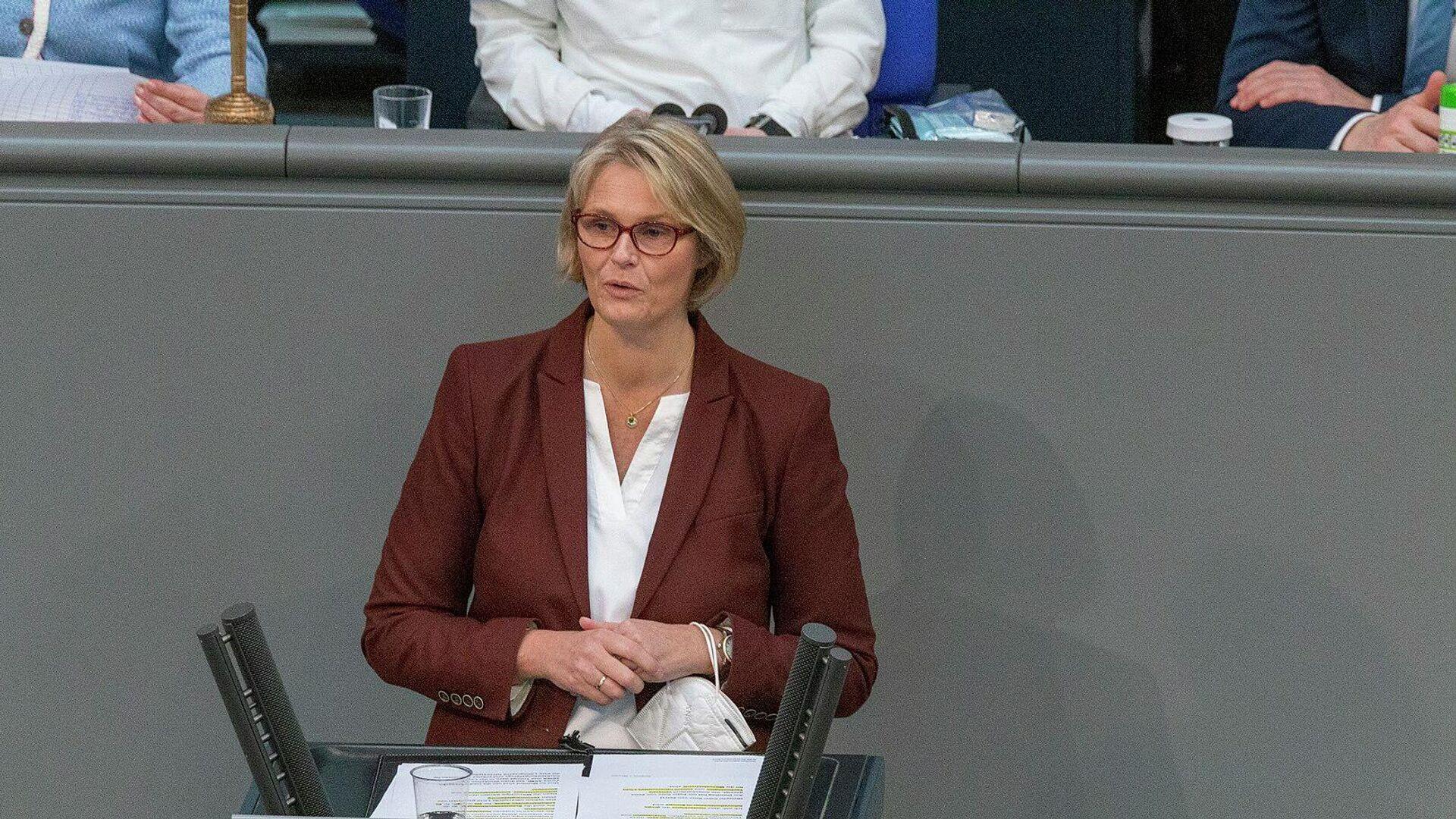 Bundesbildungsministerin Anja Karliczek (CDU) - SNA, 1920, 03.09.2021