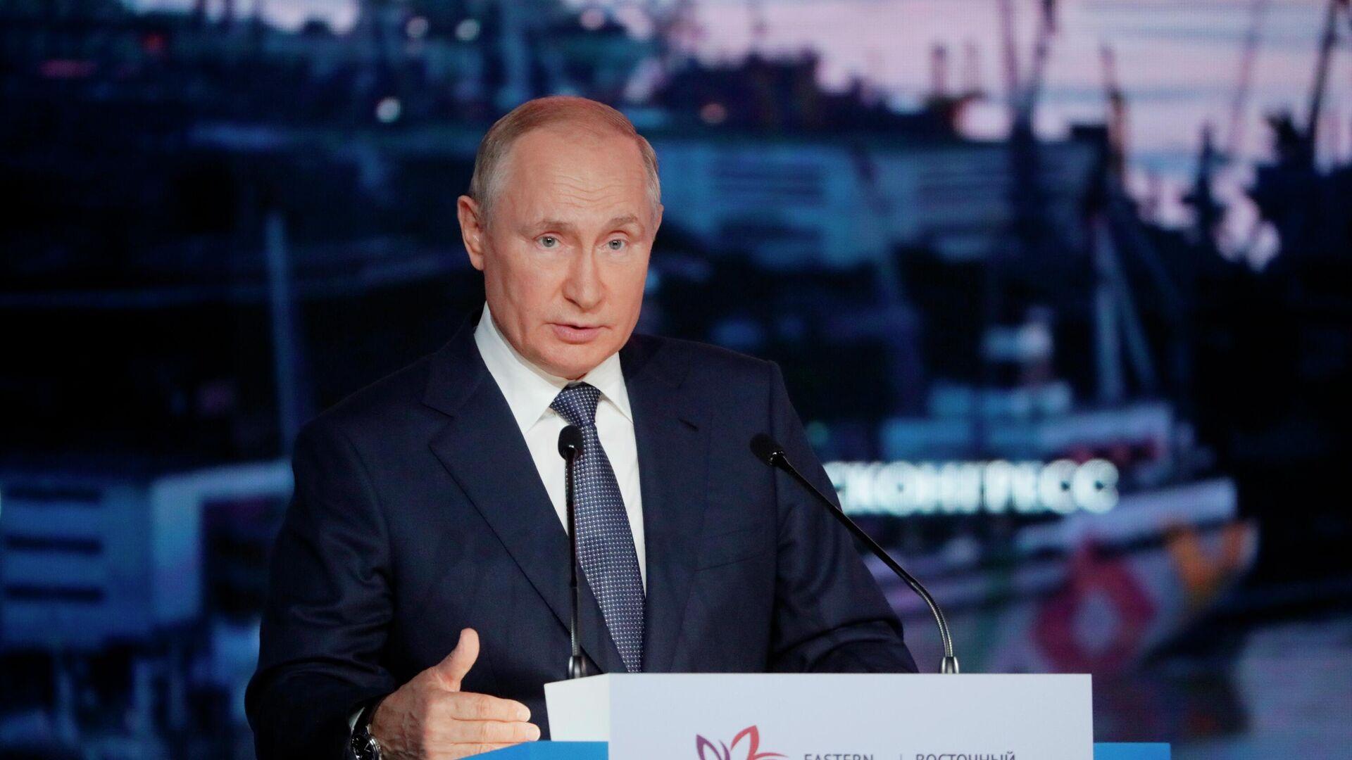 Putin beim Eastern Economic Forum, September 2021 - SNA, 1920, 04.09.2021