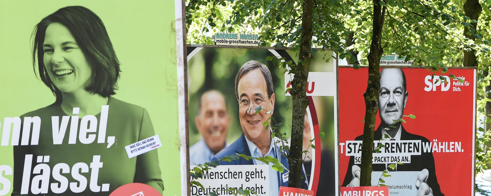 Wahlkampagne in Deutschland - SNA, 1920, 03.09.2021
