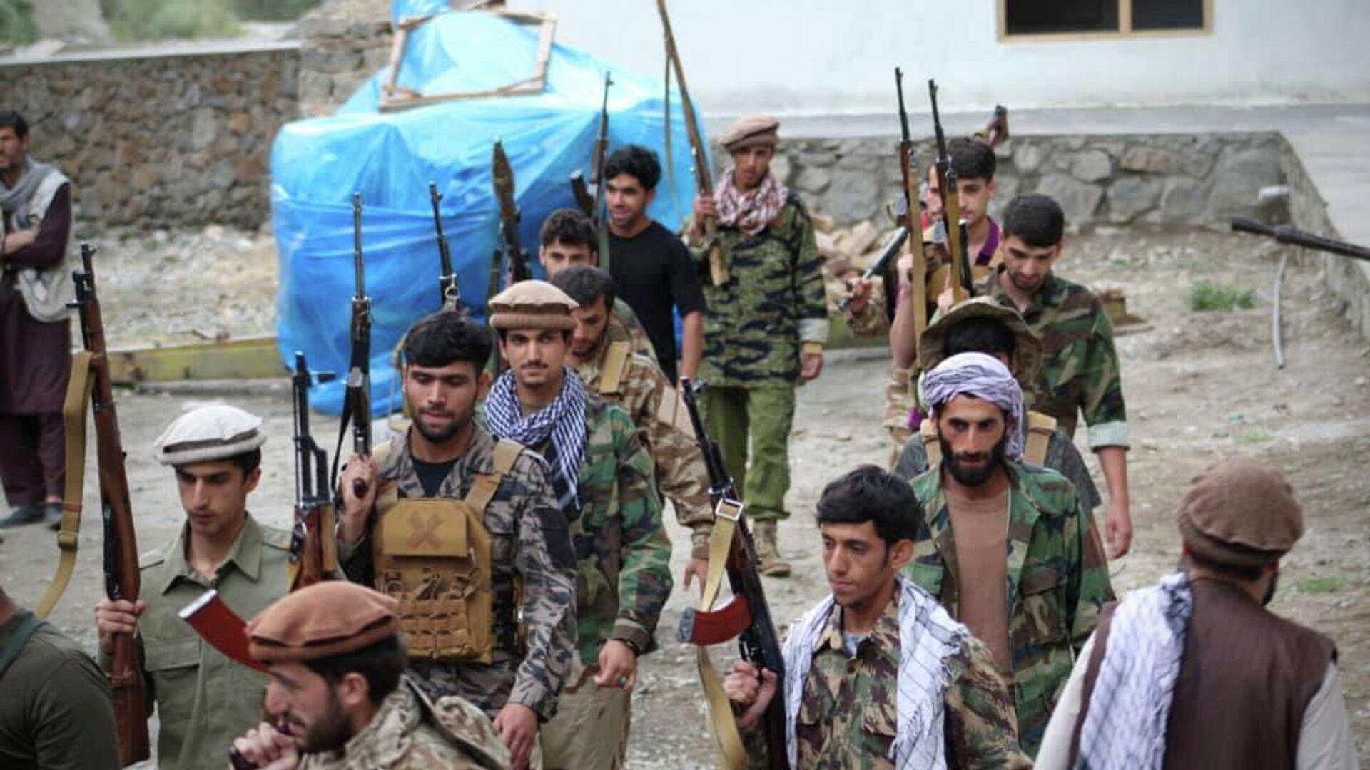 Widerstandskämpfer in der afghanischen Provinz Pandschir - SNA, 1920, 05.09.2021