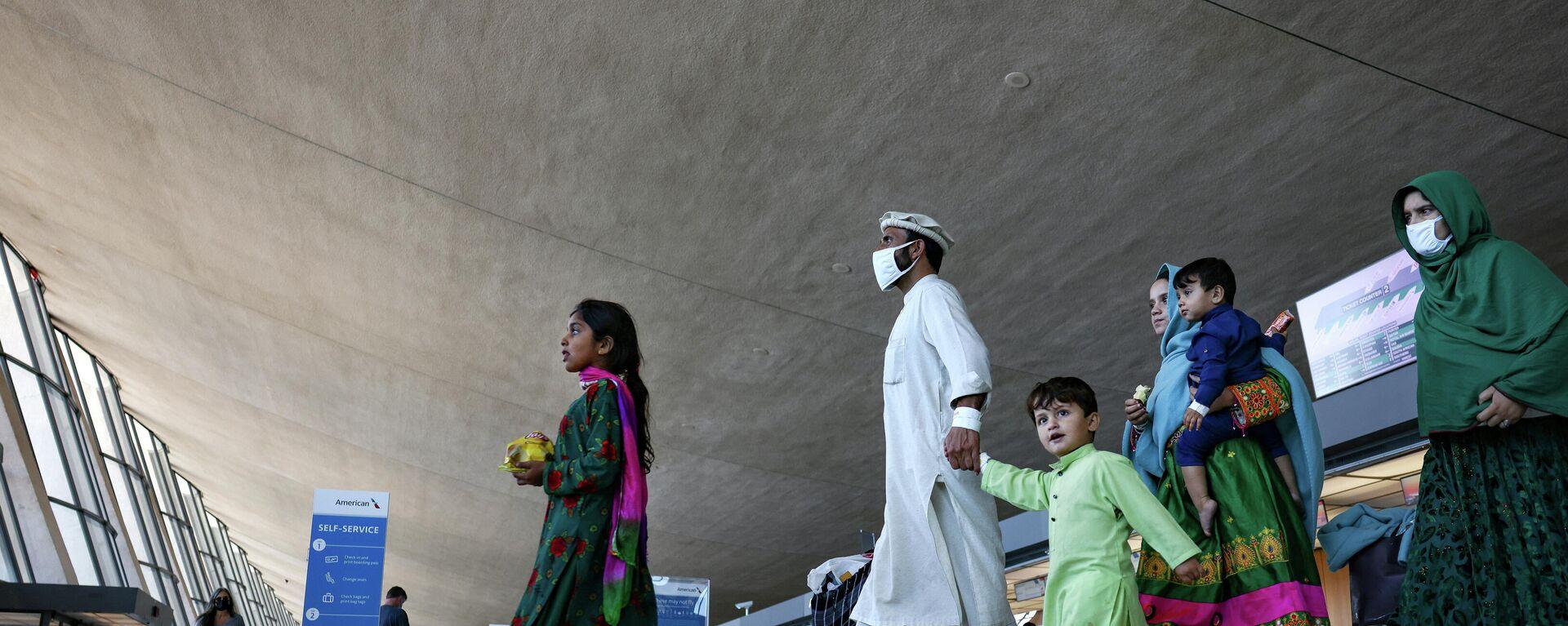 Afghanische Flüchtlinge - SNA, 1920, 04.09.2021