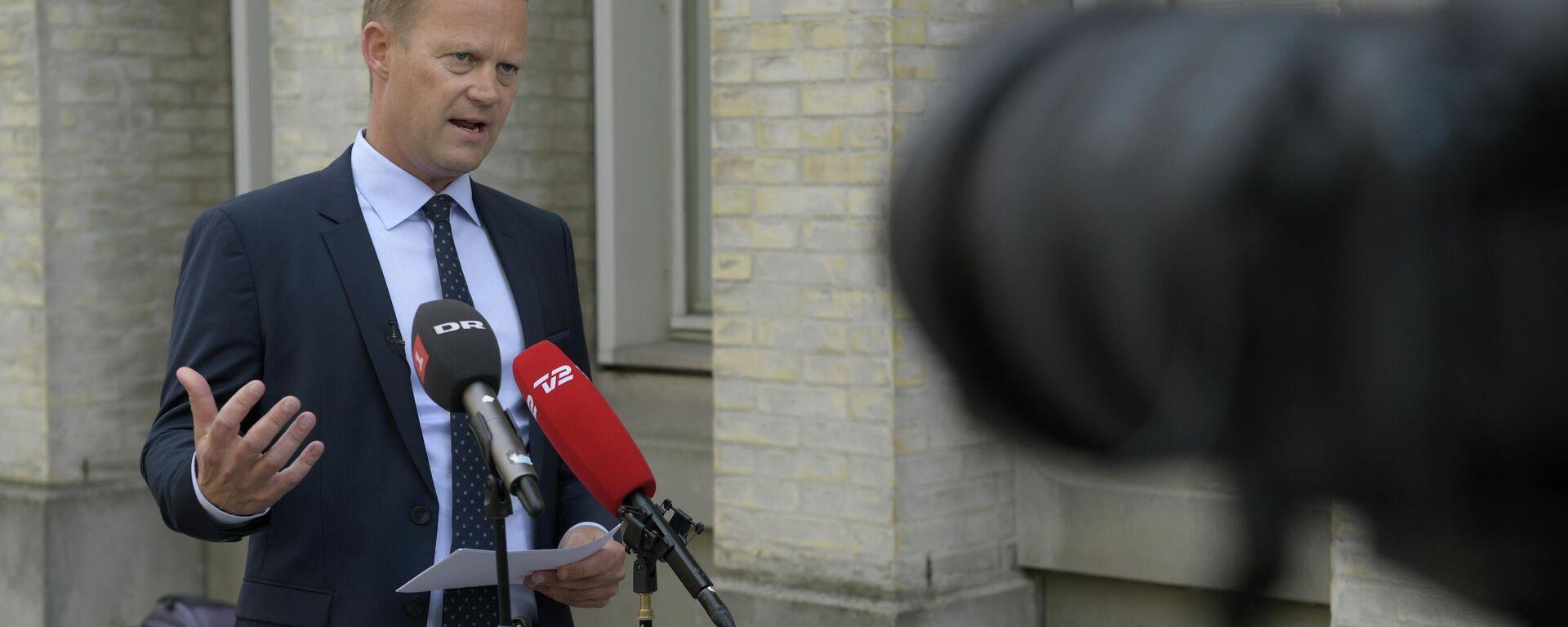 Dänemarks Außenminister Jeppe Kofod (Archivbild) - SNA, 1920, 04.09.2021