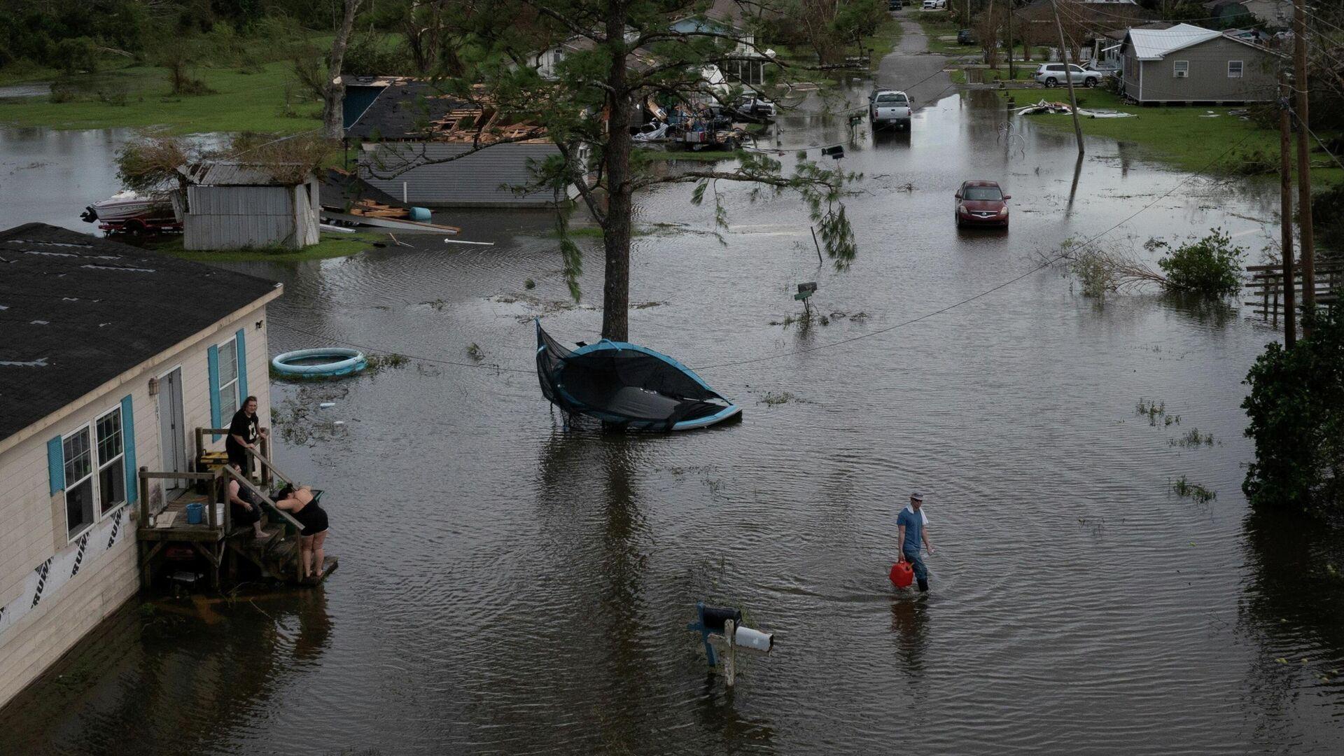 Folgen des Hurrikans Ida im US-Bundesstaat Louisiana - SNA, 1920, 04.09.2021