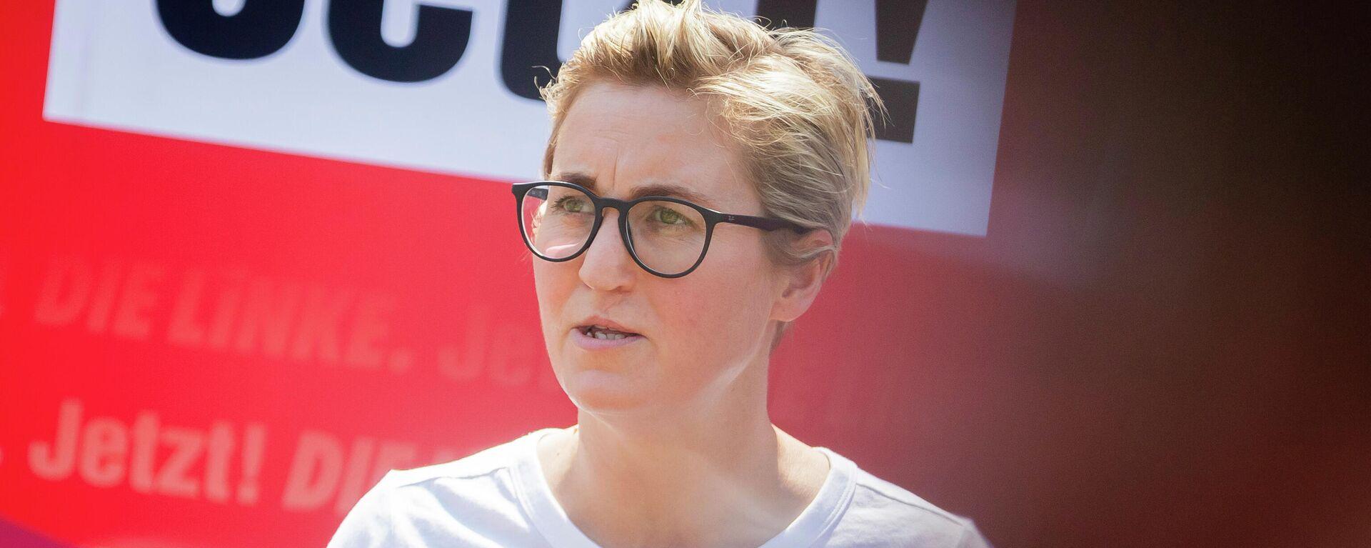 Die Vorsitzende der Linken Susanne Hennig-Wellsow (Archivfoto) - SNA, 1920, 04.09.2021