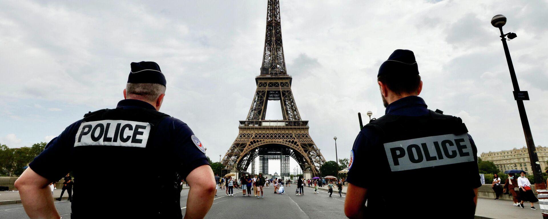 Polizei in Paris  - SNA, 1920, 04.10.2021