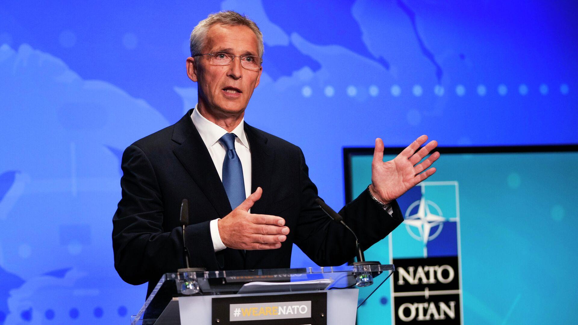 Nato-Generalsekretär Jens Stoltenberg - SNA, 1920, 05.09.2021