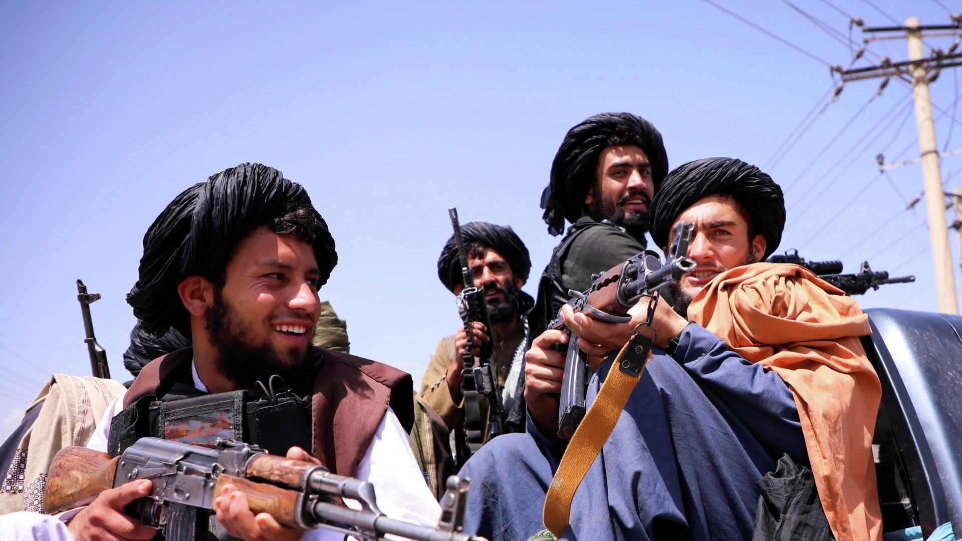 Taliban-Kämpfer - SNA, 1920, 08.09.2021