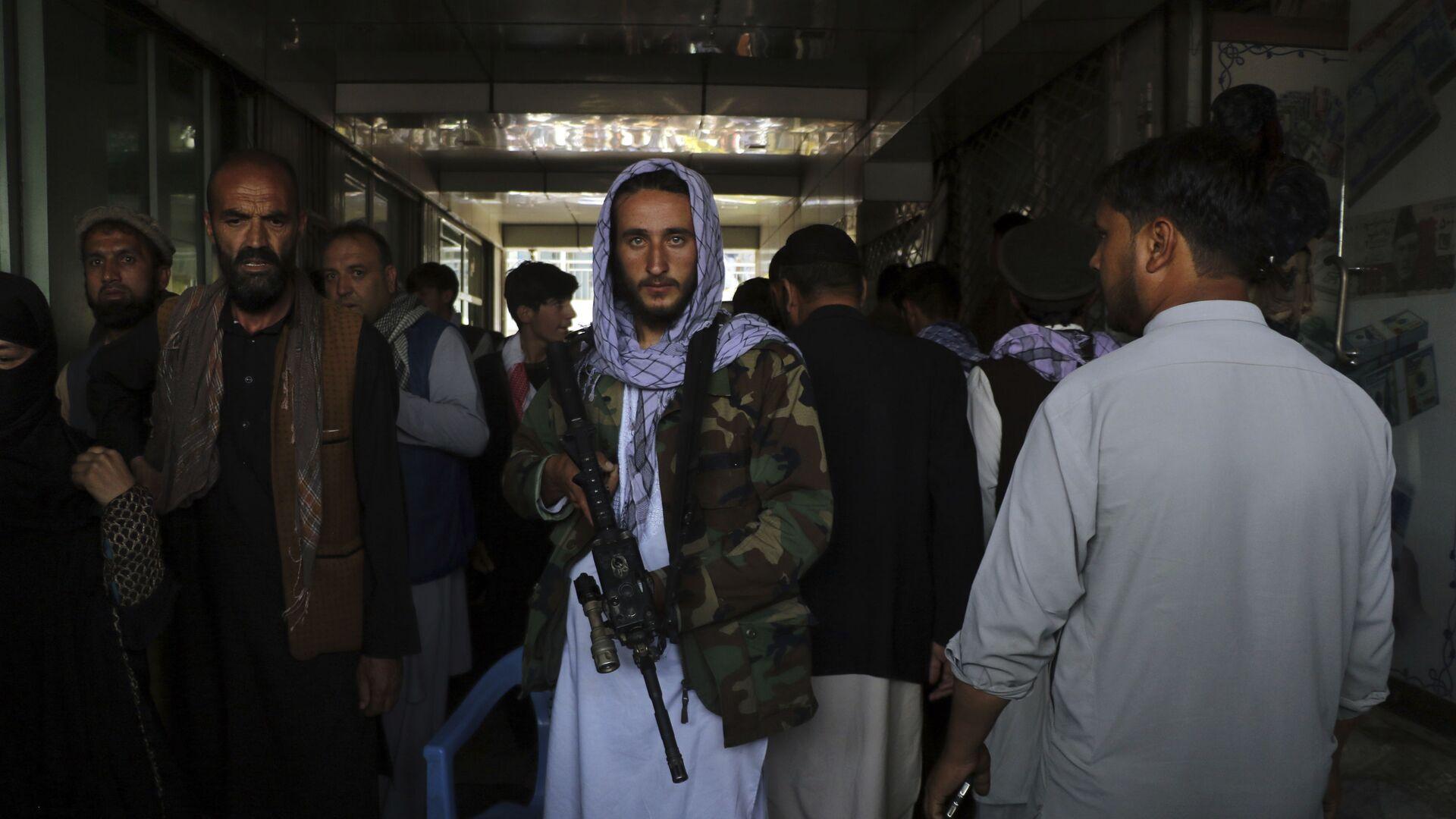 Taliban-Kämpfer - SNA, 1920, 07.09.2021