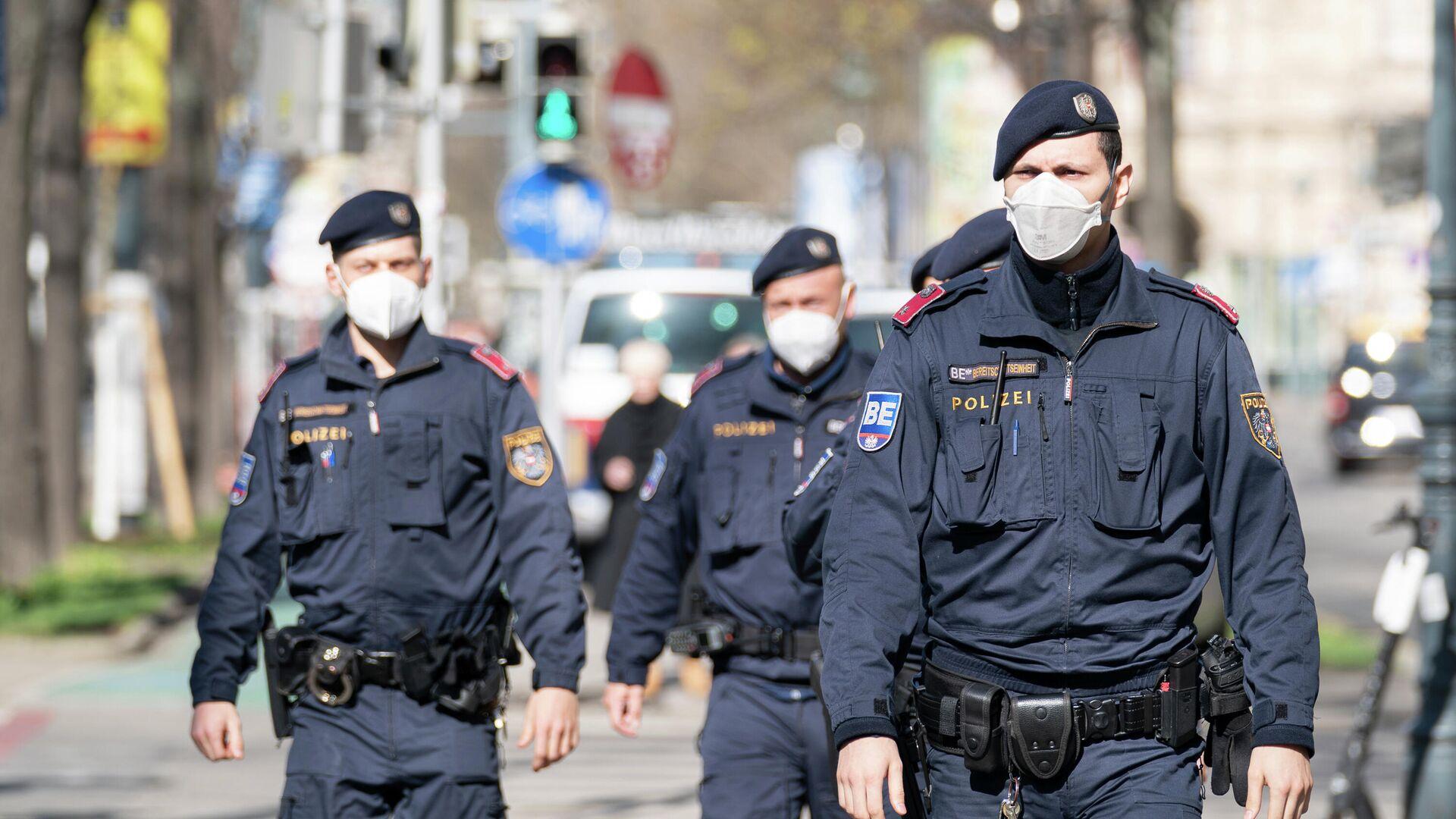 Polizeibeamte in Wien  - SNA, 1920, 12.10.2021