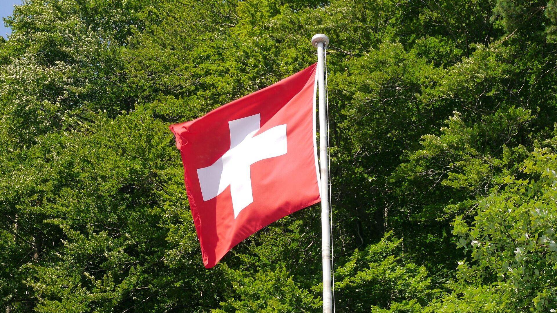 Schweizer Flagge (Symbolbild) - SNA, 1920, 29.09.2021