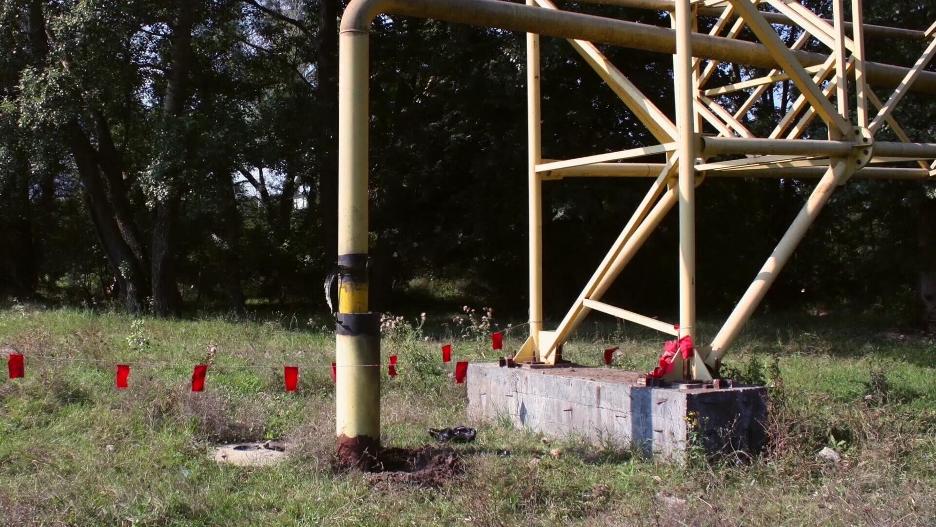 Pipeline-Explosion auf der Halbinsel Krim - SNA, 1920, 07.09.2021