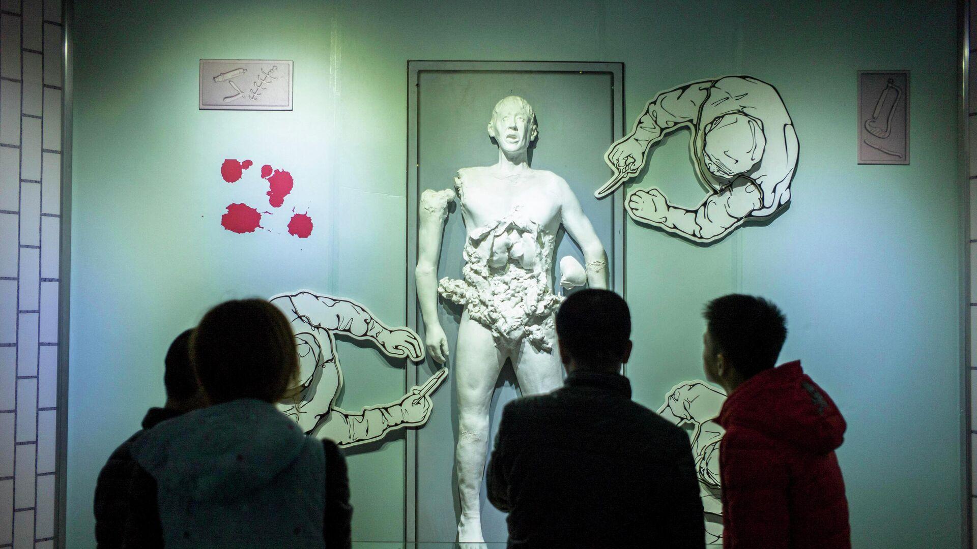 Das japanische Museum der Beweise für Kriegsverbrechen durch die geheime japanische Einheit 731 - SNA, 1920, 07.09.2021