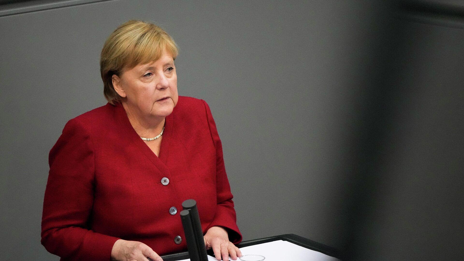 Bundeskanzlerin Angela Merkel - SNA, 1920, 12.09.2021