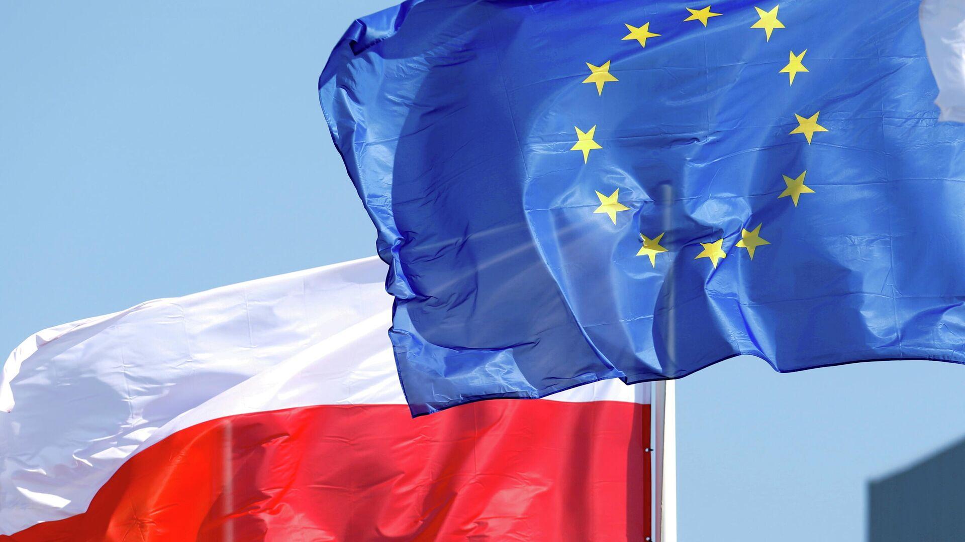 Die Falggen von Polen und der EU - SNA, 1920, 20.09.2021
