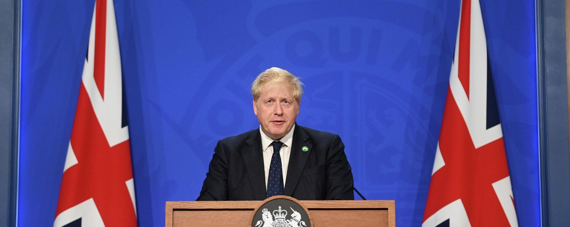 Boris Johnson - SNA, 1920, 07.09.2021