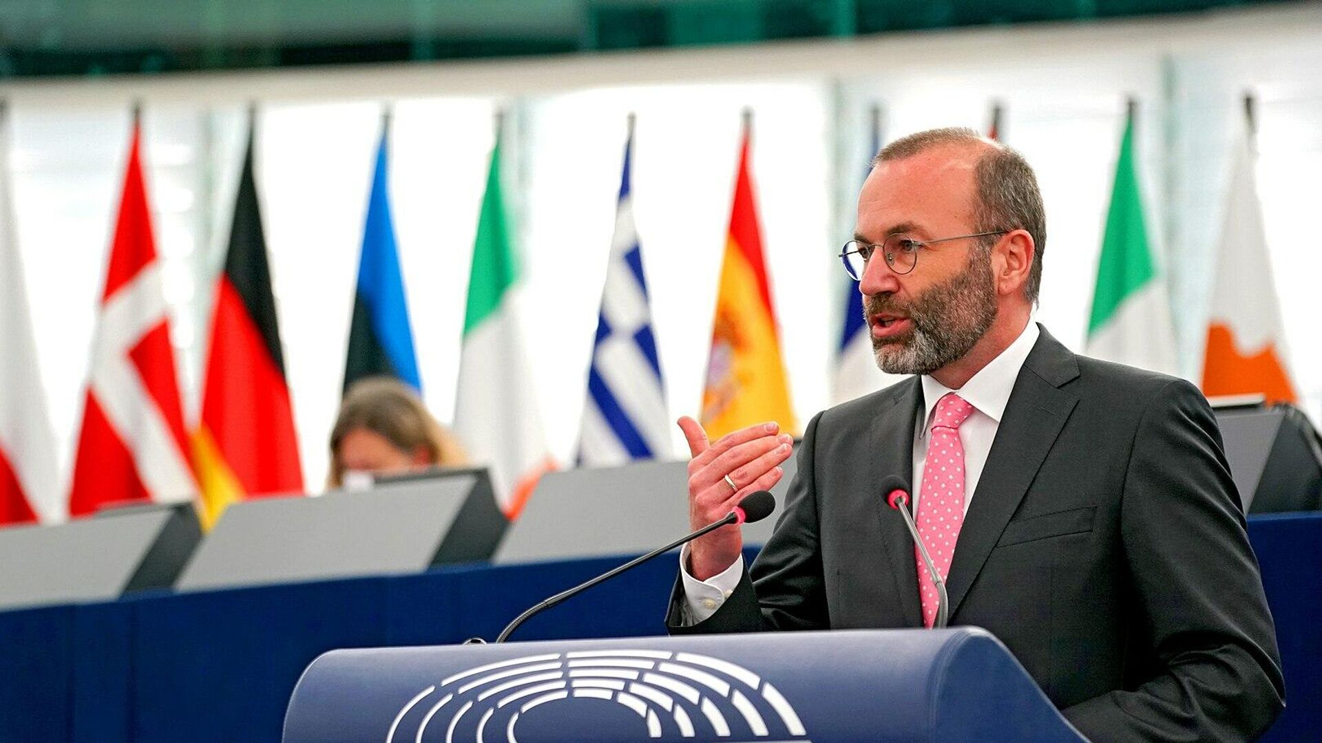 EVP-Politiker Manfred Weber - SNA, 1920, 08.09.2021