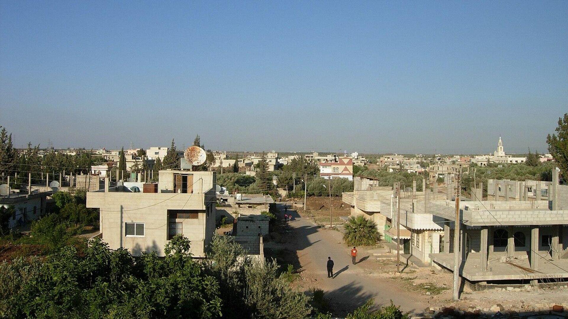 Syrische Stadt Daraa (Archivbild) - SNA, 1920, 08.09.2021