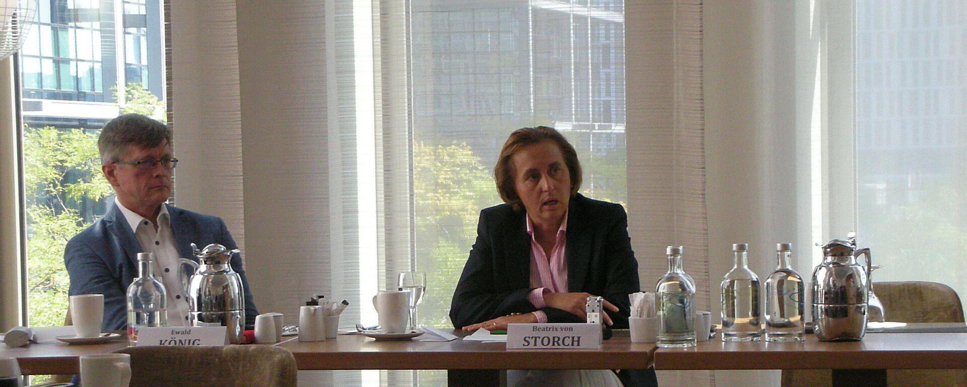 AfD-Spitzenpolitikerin Beatrix von Storch - SNA, 1920, 08.09.2021