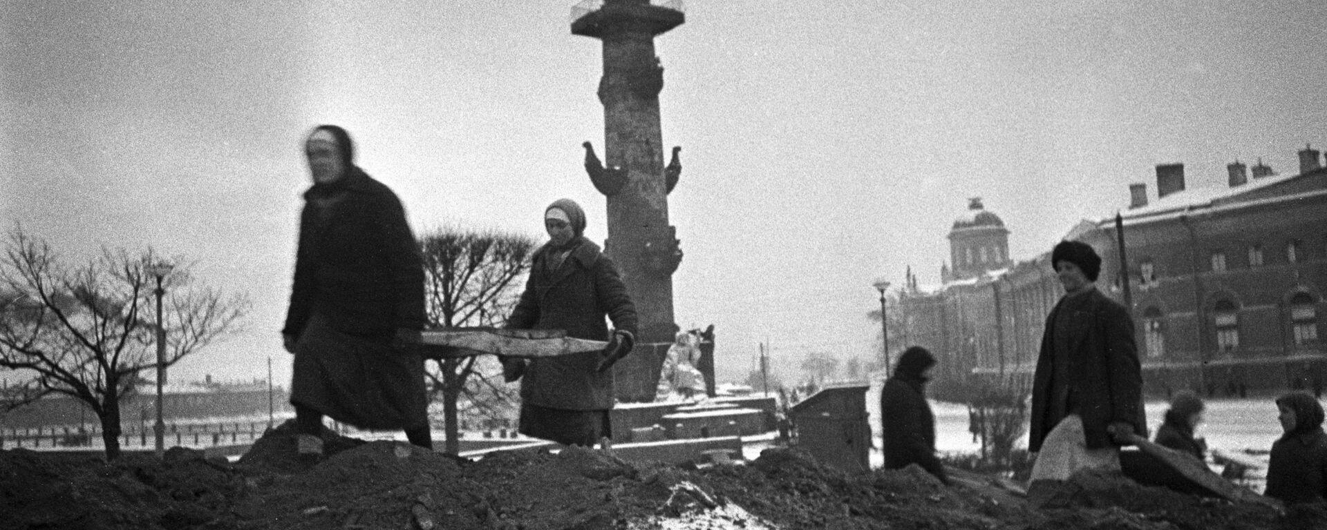 Leningrader Blockade, 1942 - SNA, 1920, 08.09.2021