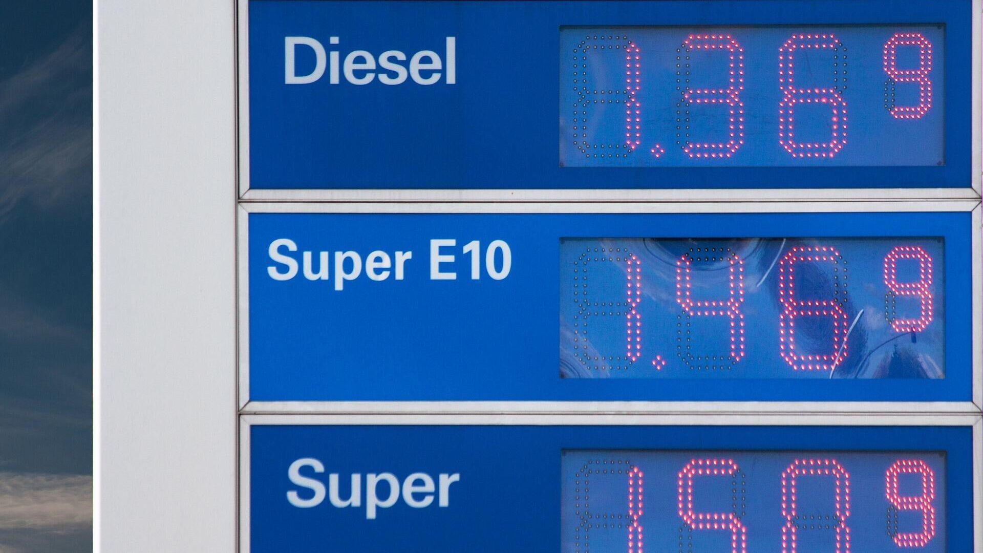 Benzinpreise (Symbolbild) - SNA, 1920, 09.09.2021