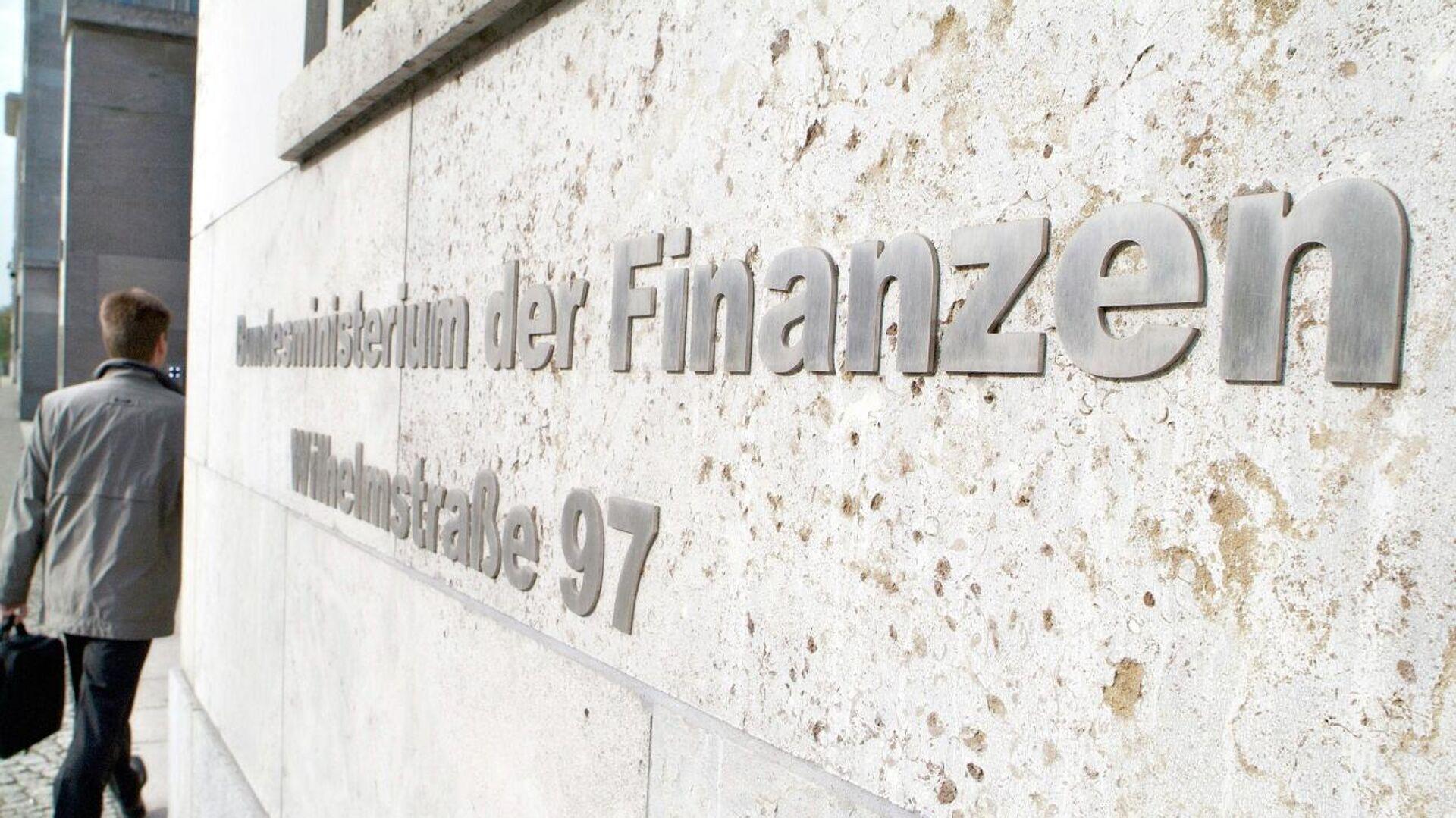 Bundesfinanzministerium in Berlin - SNA, 1920, 09.09.2021