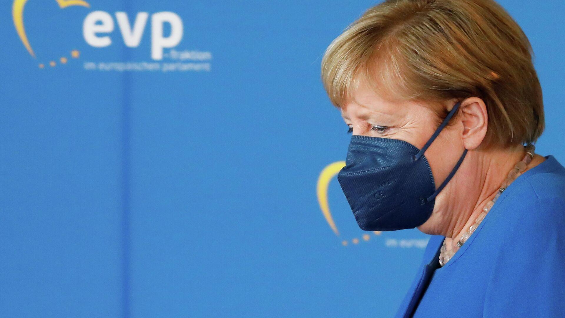 Bundeskanzlerin Angela Merkel - SNA, 1920, 09.09.2021