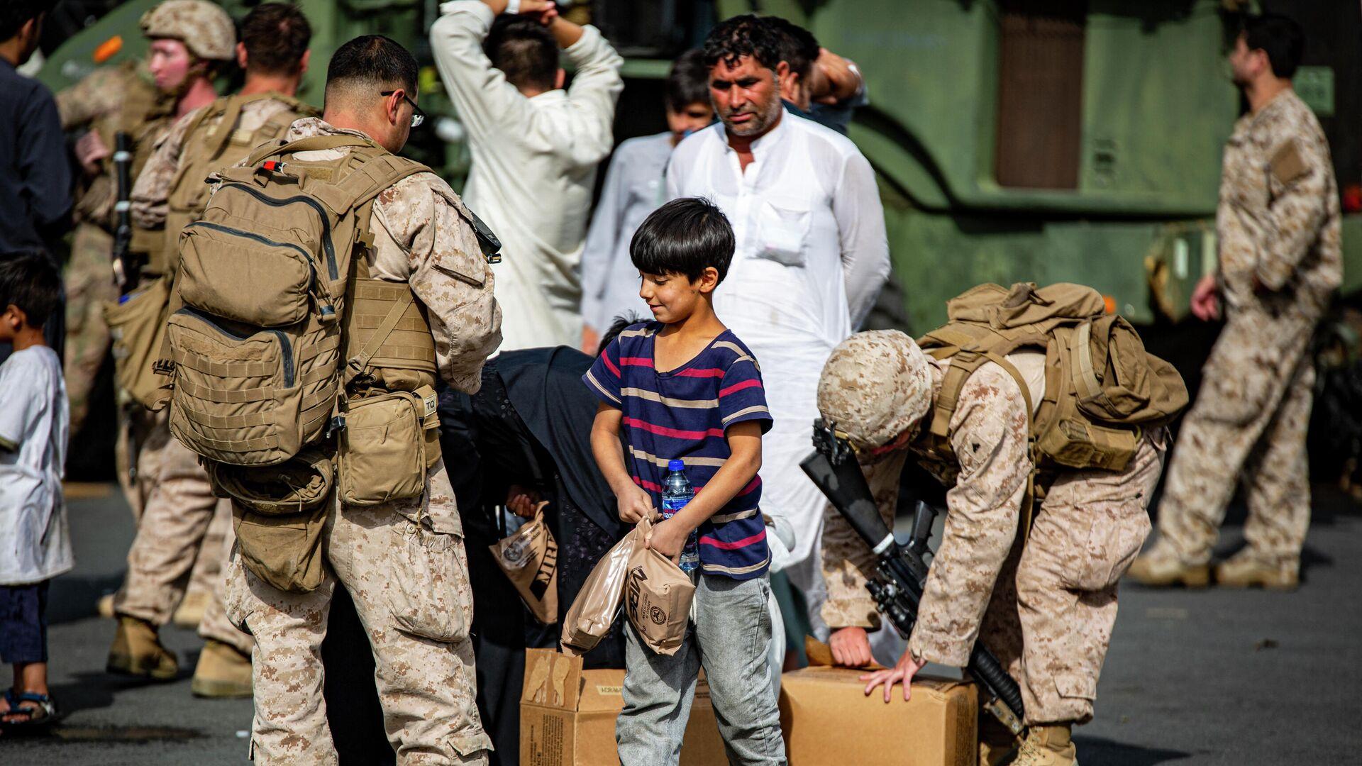 Evakuierung der Afghanen  - SNA, 1920, 09.09.2021