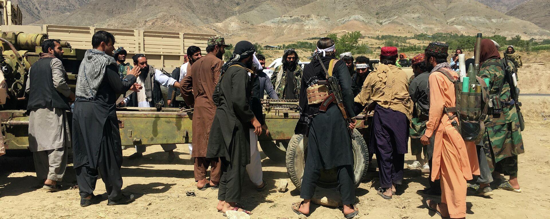 Taliban-Kämpfer in der Provinz Panjshir - SNA, 1920, 10.09.2021