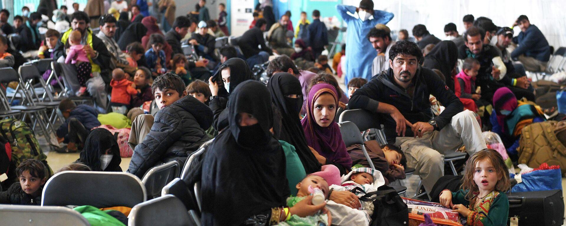 Afghanische Flüchtlinge - SNA, 1920, 10.09.2021