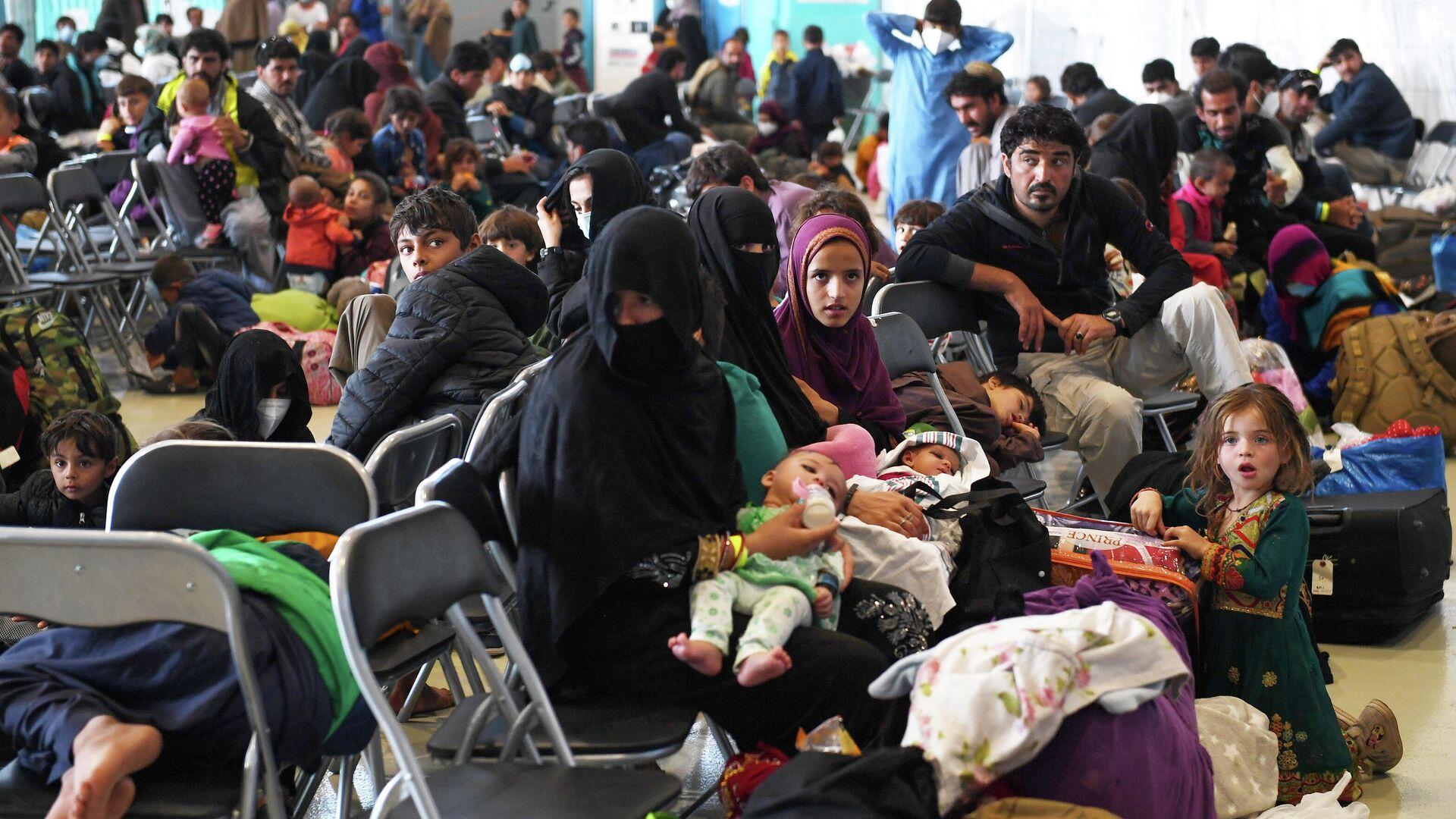 Afghanische Flüchtlinge - SNA, 1920, 17.09.2021